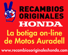 Recanvis Originals Honda i Montesa